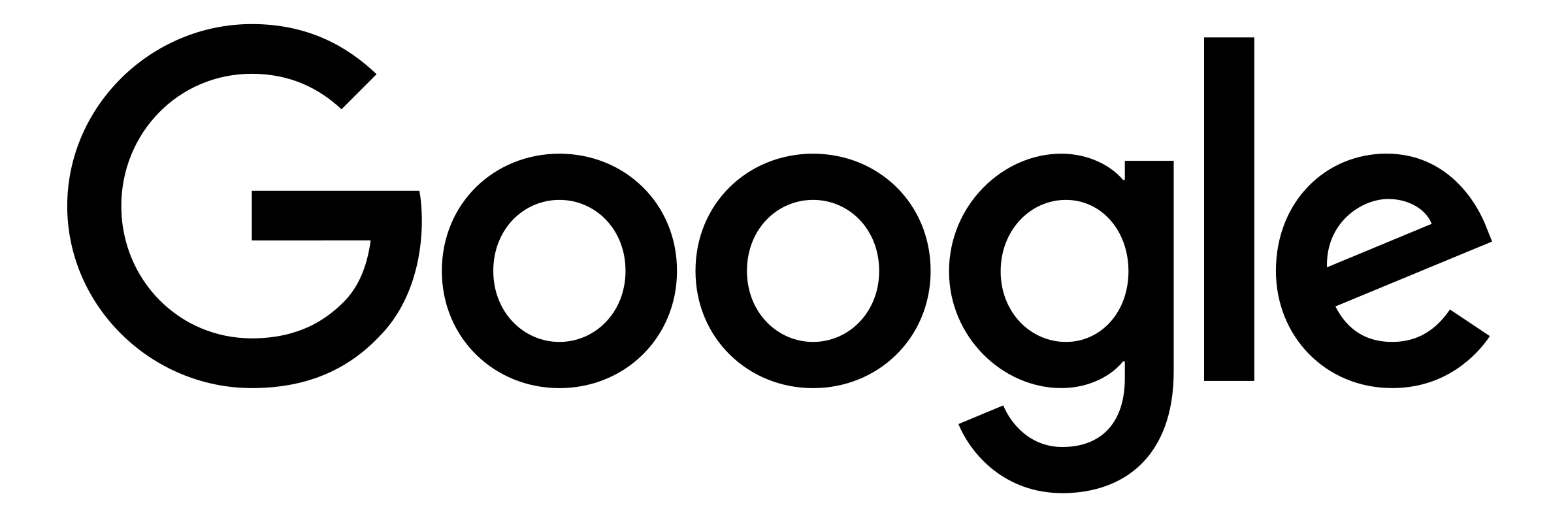 Google Black And White Logo